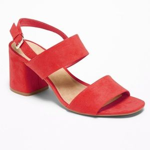 Red Old Navy Sandals